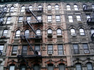 Typical uptown tenements