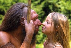 neanderthal + woman